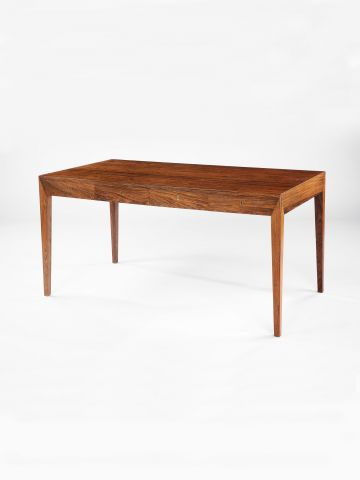 1960's Danish Rosewood Desk by Severin Hansen