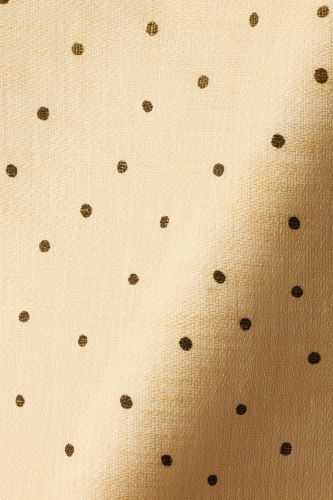 Sheer Linen in Olive Spot on Honey