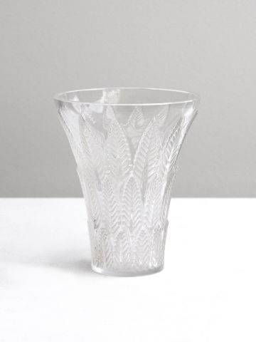 Art Deco 'Chataignier' Vase by Lalique
