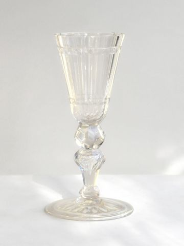 Cut-Glass Goblet