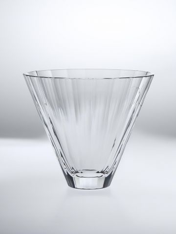 Faceted Glass Vase by Rose Uniacke