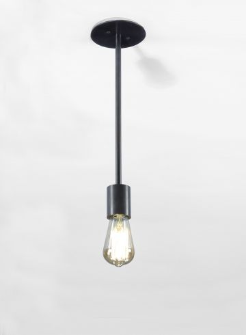 Single Ceiling Mounted Pendant (Type B) by Seth Stein