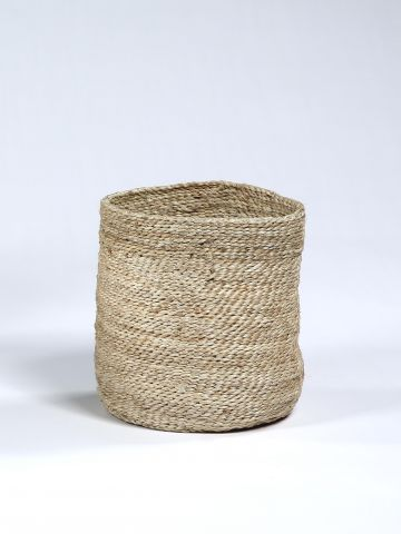 Waste Paper Basket in Natural jute