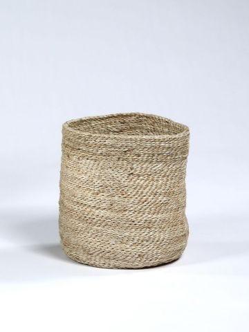 Waste Paper Basket in Jute