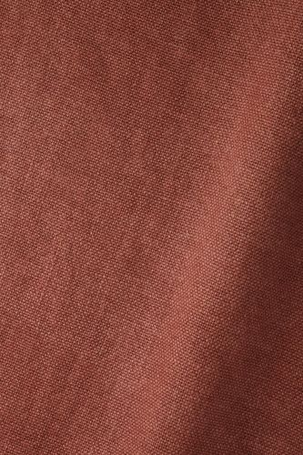 Heavy Weight Linen in Firebrick