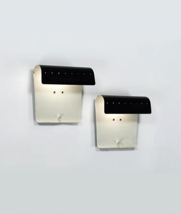 Pair of Model '193' Wall Lights by Jacques Biny