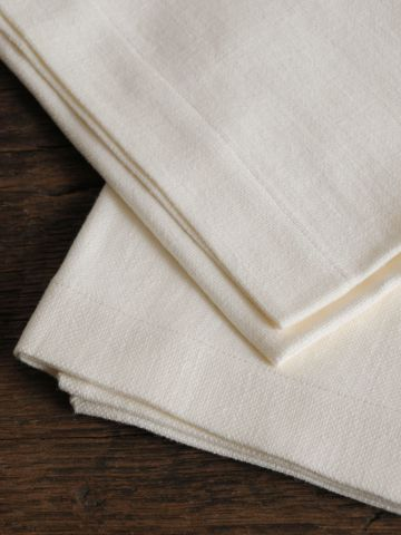 Napkins in 'Popcorn' Heavy Weight Linen
