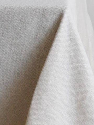 Rectangular Tablecloth in 'Popcorn' Heavy Weight Linen