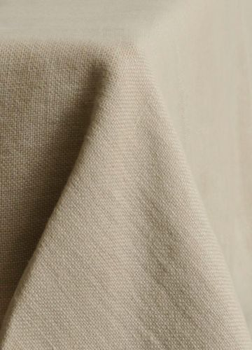 Rectangular Tablecloth in 'Otter' Heavy Weight Linen