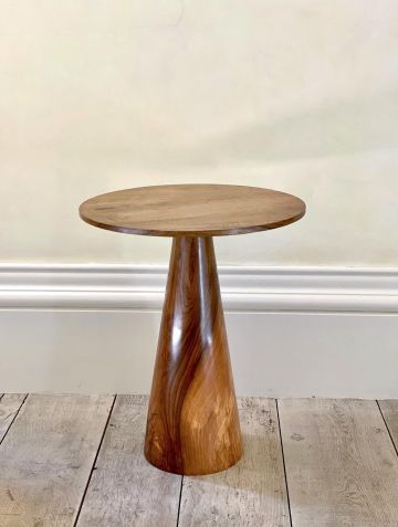 Solid Walnut Side Table by Rose Uniacke