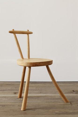 Three Legged Chair by Rose Uniacke
