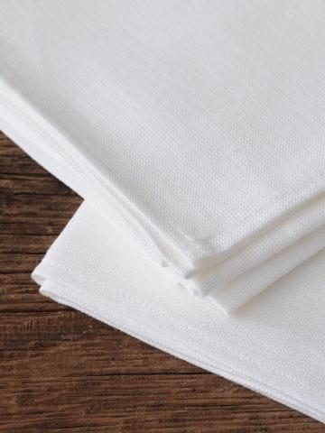 Tea Towels in 'Frost' Linen