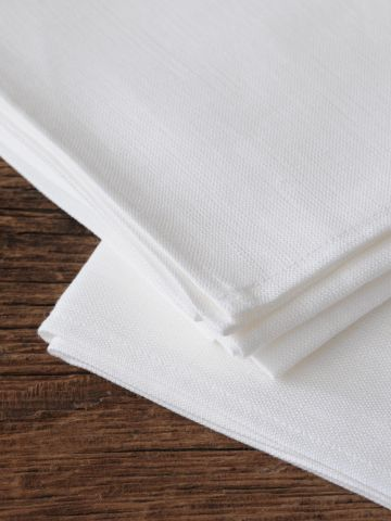 Tea Towels in 'Frost' Linen