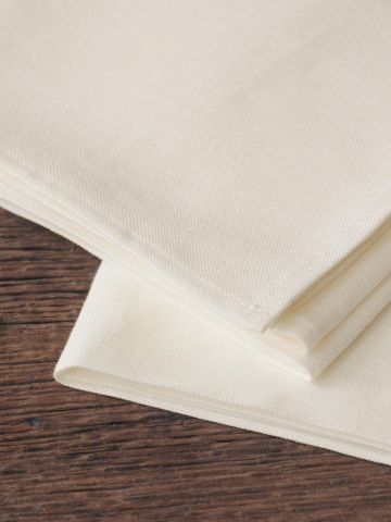 Tea Towels in 'Mallow' Linen