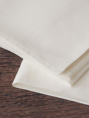 Tea Towels in 'Mallow' Linen