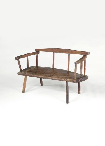 18th Century Rustic Bench or Settle