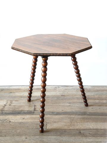 William IV Rosewood Bobbin 'Cricket' Table