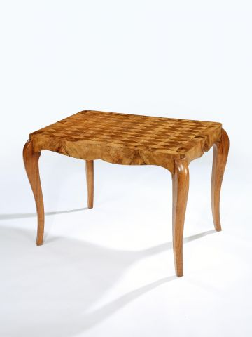 19th Century French Parquetry Centre/Games Table