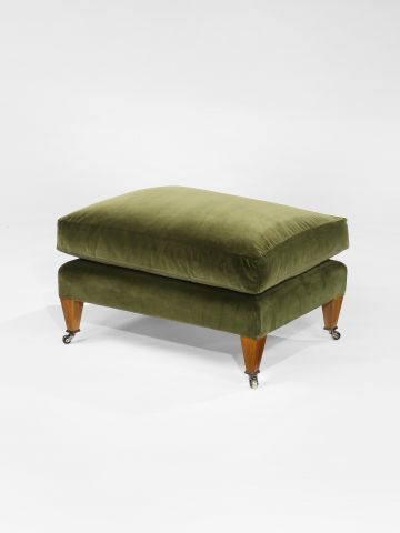 Drawing Room Ottoman by Rose Uniacke
