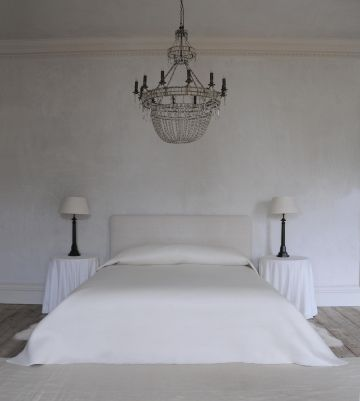 Felted Cashmere Bedspread by Rose Uniacke