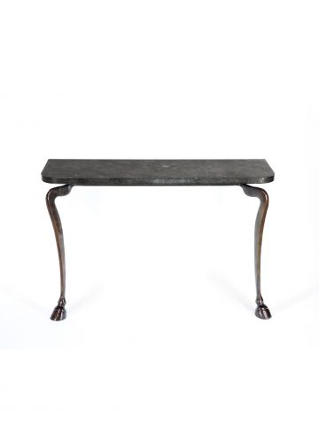 Hoof Console in Cast Bronze by Rose Uniacke