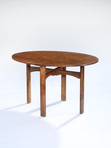 Arts & Crafts Oak Centre Table