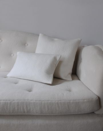Small Felted Cashmere Scatter Cushion