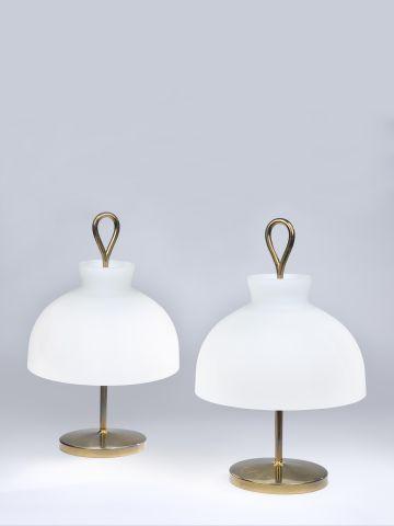 Pair of 'Arenzano' Table Lamps by Ignazio Gardella