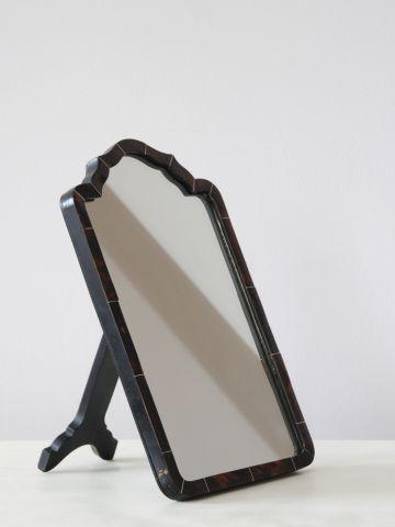 Small Tortoiseshell Dressing Table Mirror