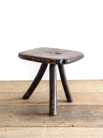 Small Country Ash 'Bodger's' Stool