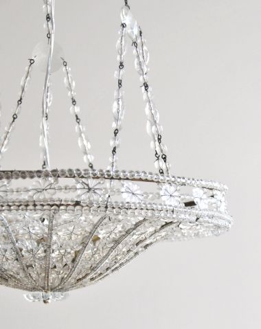 Early Art Deco Italian Chandelier_3