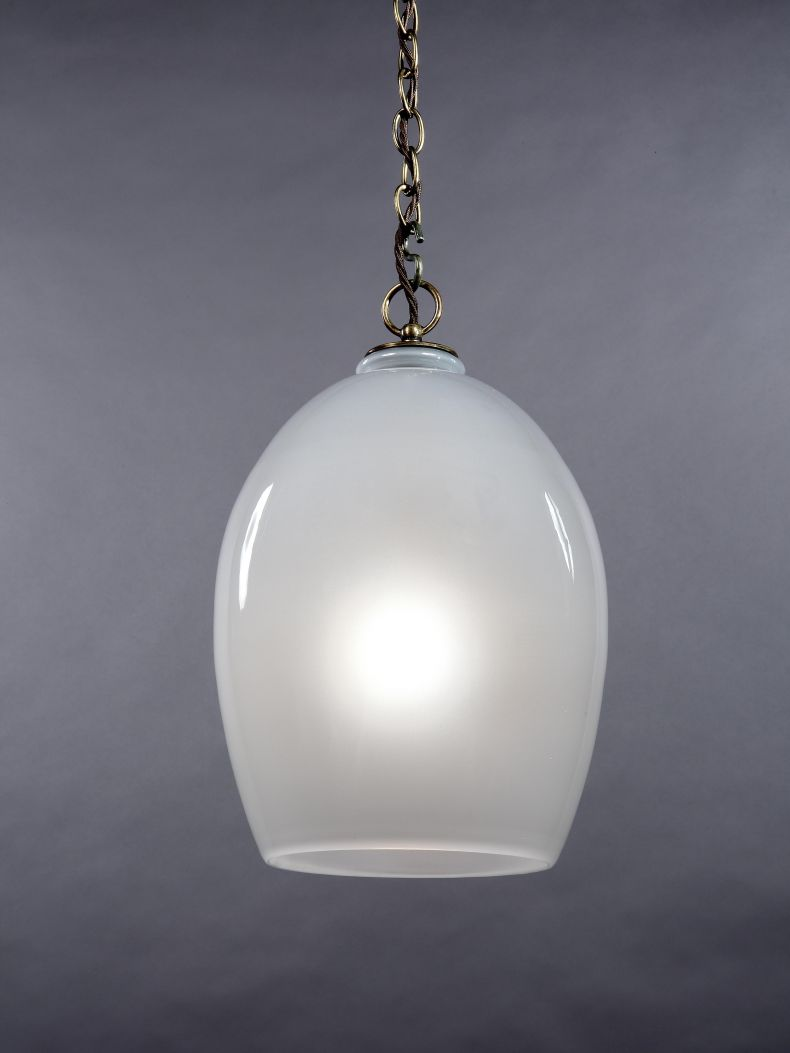 Small Frosted Lantern by Rose Uniacke