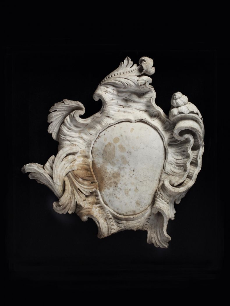 Early 18th Century Stone Cartouche_0