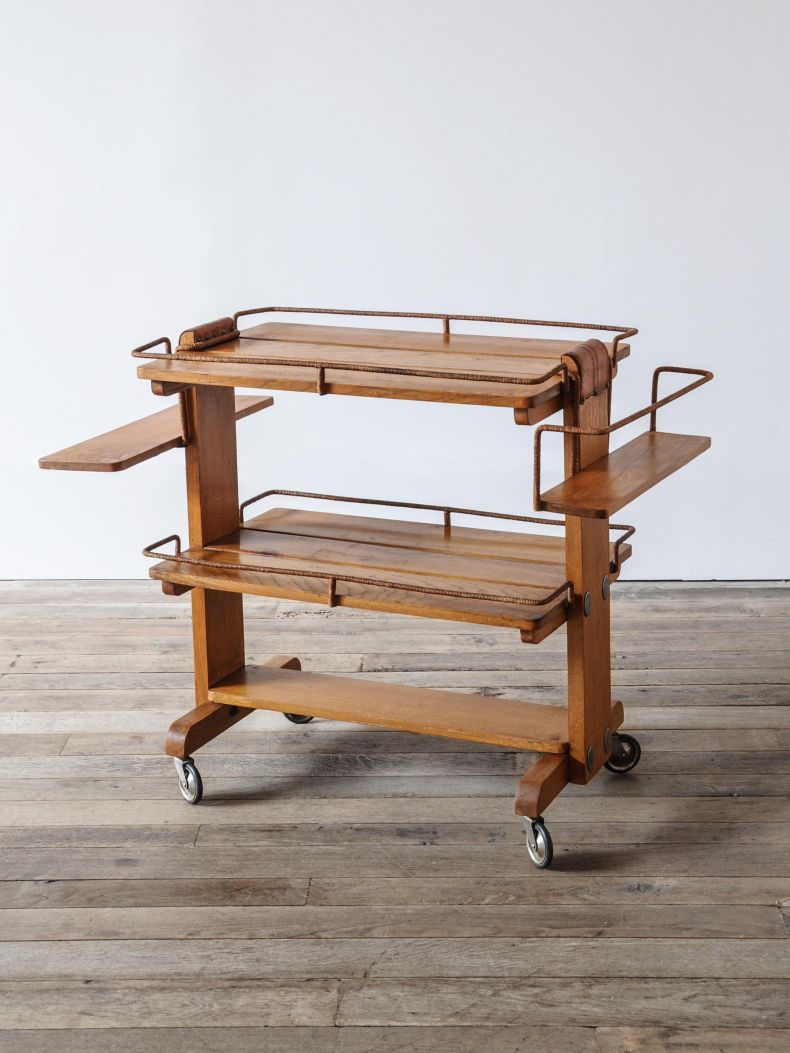 Rope & Elm Drinks Trolley_0
