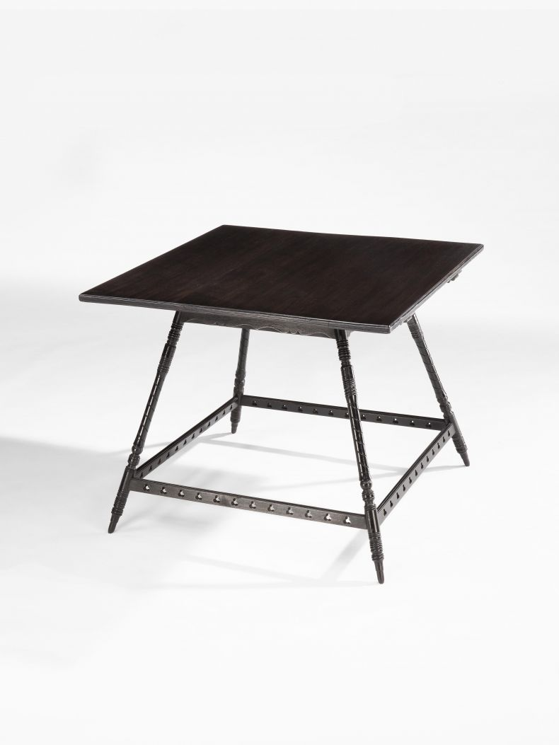 Aesthetic Movement Ebonised Occasional Table_0