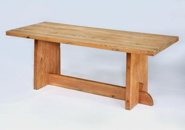 Pine 'Lovö' Table by Axel Einar Hjorth_1