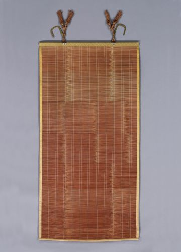 Set of Eight Meiji Period Split Bamboo Screens