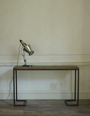 Patinated Steel Console Table by Rose Uniacke