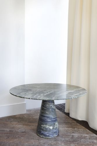 Green Marble Centre Table by Rose Uniacke