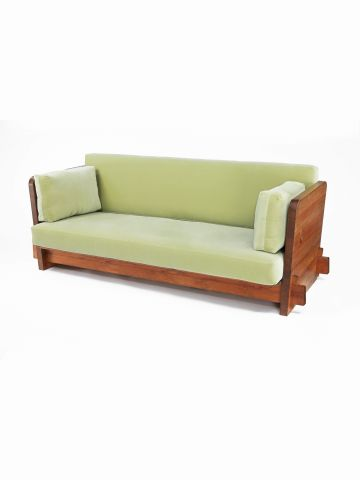 Pine 'Lovo' Sofa by Axel Einar Hjorth