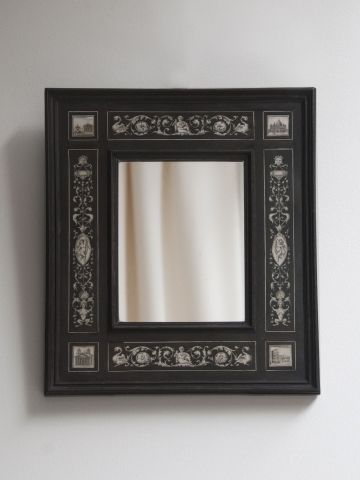 19th Century Small 'Grand Tour' Mirror