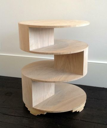 Circular Three Tiered Table by Rose Uniacke