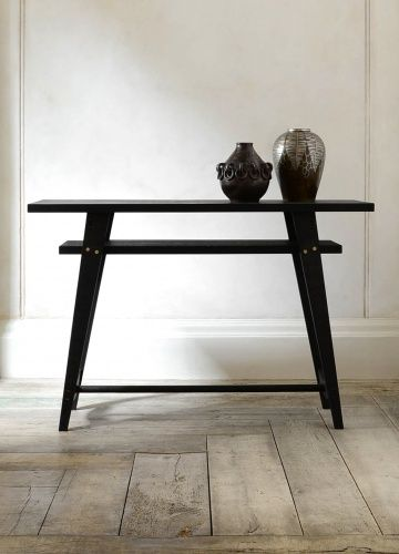 The Two-Tier Side Console by Rose Uniacke
