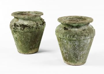 Pair of Cotswold Stone vases