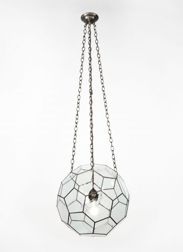 Leaded Glass Lantern by Rose Uniacke