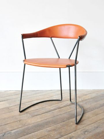 Y-Chair in Tan by Rose Uniacke
