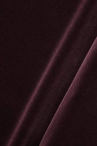 Cotton Velvet in Tyrian
