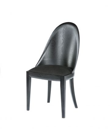 Ebonised Theatre Chair