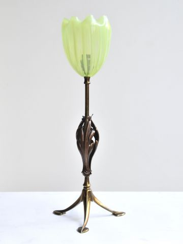 Arts & Crafts Table Lamp by Benson