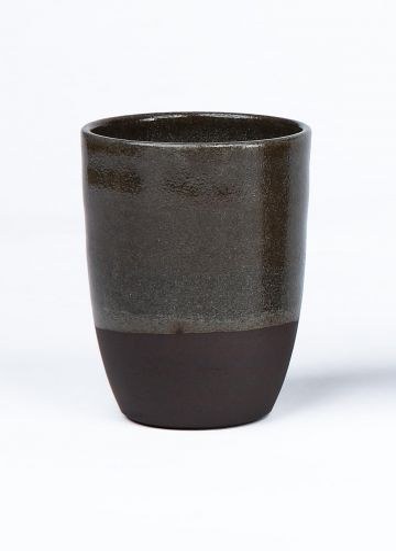 Ceramic Small Beaker in Transparent Glaze